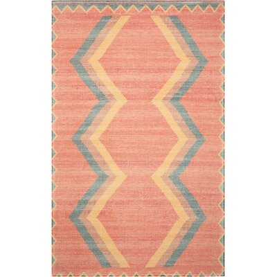Joplin Tangerine Area Rug Rug Size: Rectangle 5 x 7