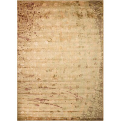 Kichatna Lemon Area Rug Rug Size: Rectangle 79 x 1210
