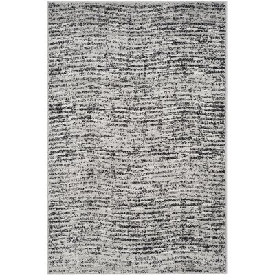 Millbrae Black/Beige Area Rug Rug Size: Rectangle 4 x 6