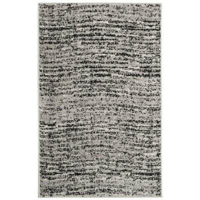 Millbrae Black/Beige Area Rug Rug Size: Rectangle 26 x 4