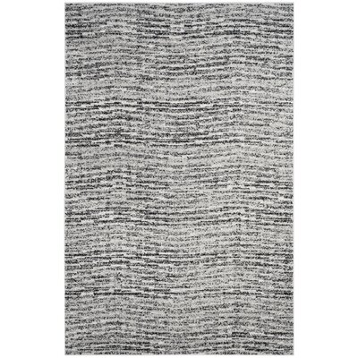 Millbrae Black/Beige Area Rug Rug Size: Rectangle 6 x 9