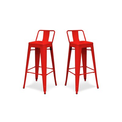 Shoshoni 26 Bar Stool Finish: Red