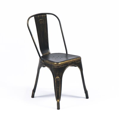 Mitt Side Chair Color: Antique Black
