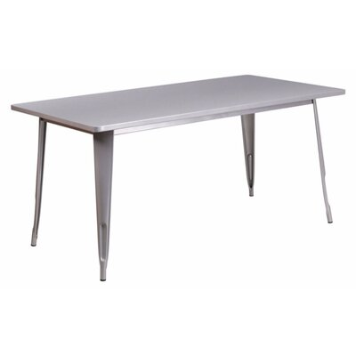 Jesse Indoor Coffee Table Color: Silver