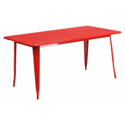 Jesse Indoor Coffee Table Color: Red