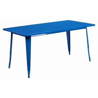 Jesse Indoor Coffee Table Color: Blue