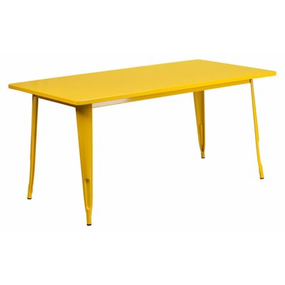 Jesse Indoor Coffee Table Color: Yellow