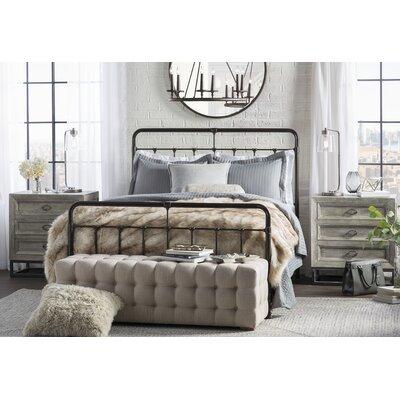 Panel Bed Size: Queen