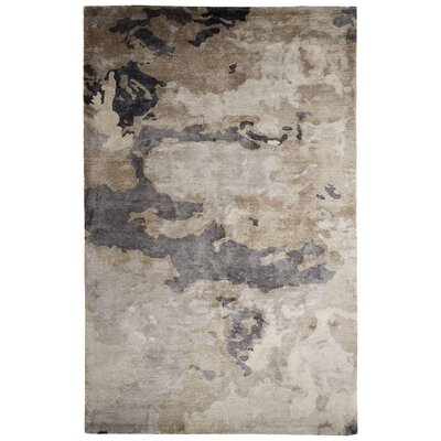 Barrington Hand-Tufted Beige/Gray Area Rug Rug Size: Rectangle 2 x 3