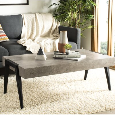 Hemlock Rectangular Mid-Century Modern Coffee Table