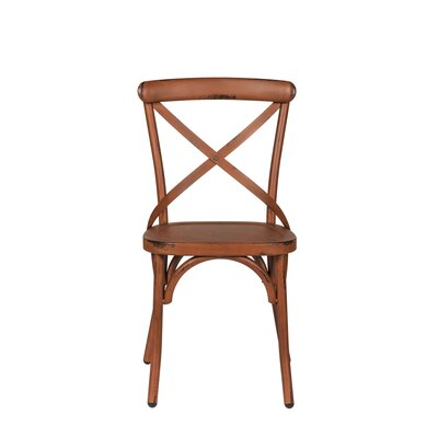 South Gate Side Chair (Set of 2) Finish: Orange