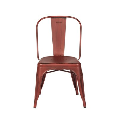 South Gate Side Chair Set (Set of 4) Finish: Red