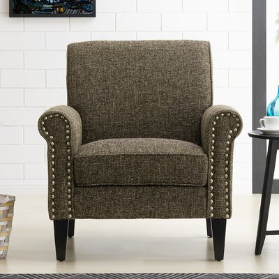 Amet Armchair Upholstery: Brown