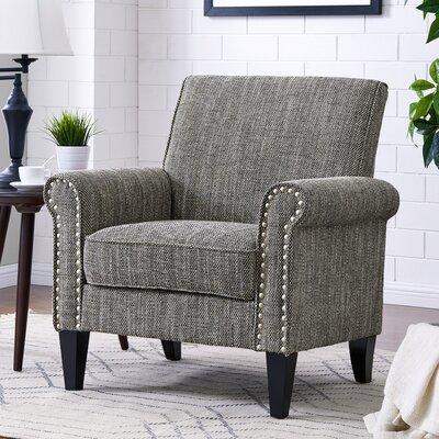Amet Armchair Upholstery: Gray