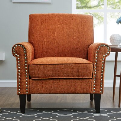 Amet Armchair Upholstery: Amber Orange