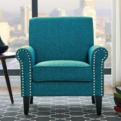 Amet Armchair Upholstery: Peacock Blue