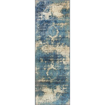 Montross Blue Area Rug Rug Size: Runner 2'8