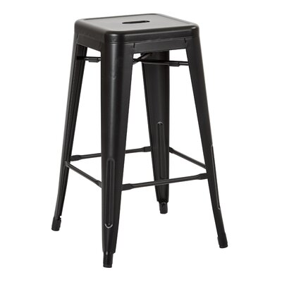 Fineview 26 Bar Stool Finish: Matte Black