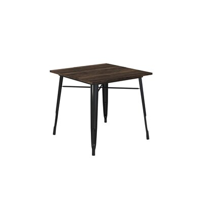 Fortuna Dining Table Color: Black