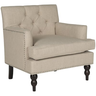Bradcliff Armchair Color: Beige