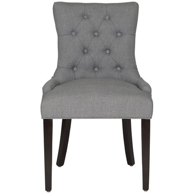 Heidel Side Chair Upholstery: Dark Blue