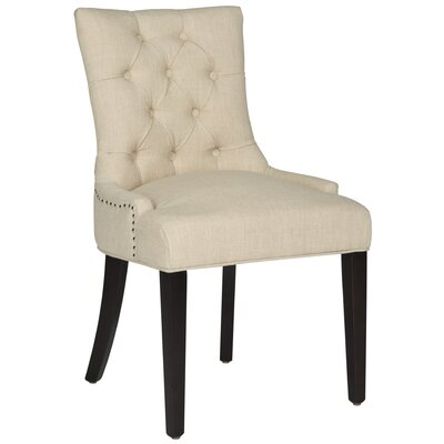 Hempstead Upholstered Dining Chair Upholstery Color: Wheat