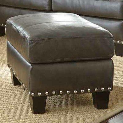 Mesilla Leather Ottoman