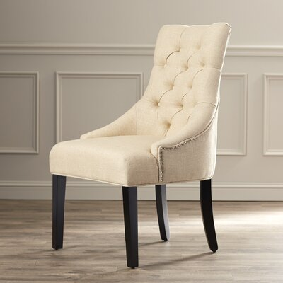 Jodie Tufted Nailhead Parsons Chair (Set of 2)