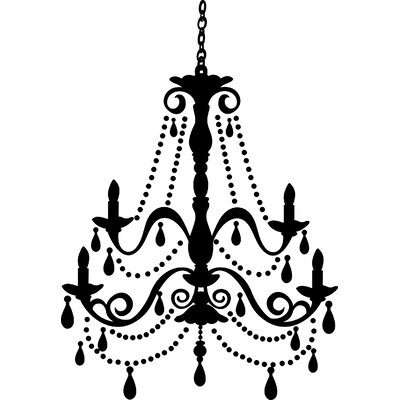 Godinne Chandelier Wall Decal