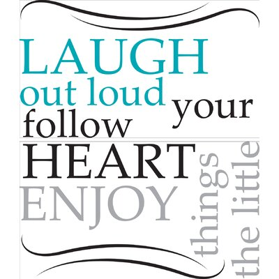 Altimore Laugh Out Loud Quote Wall Decal