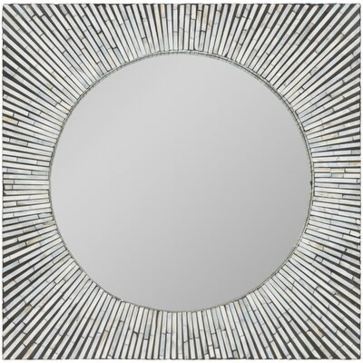 Modern Square Accent Wall Mirror WLAO1660 40853387