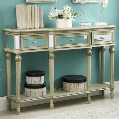 Henson 3 Drawer Console Table