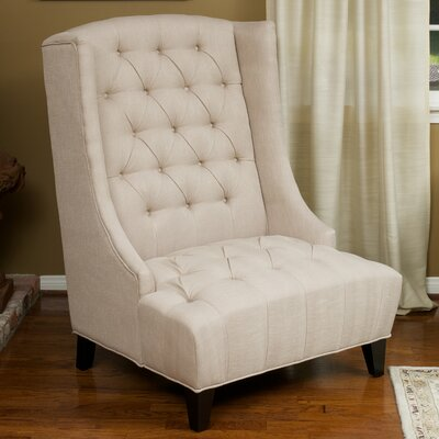 De Luca Wingback Arm Chair