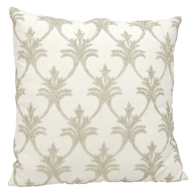 Hutcherson 100% Cotton Throw Pillow Color: Ivory