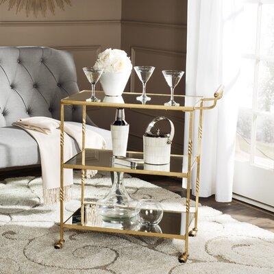 Amadeus Mirrored Serving Cart