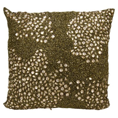 Saltash Throw Pillow Color: Light Gold, Size: 20 H x 20 W