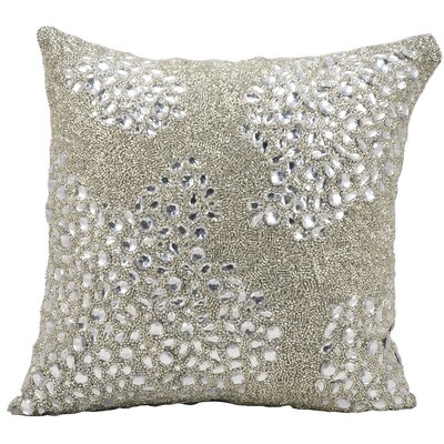 Saltash Throw Pillow Size: 20 H x 20 W, Color: Silver
