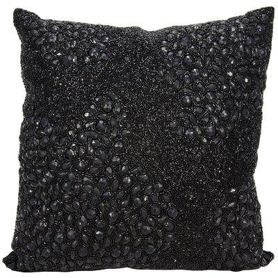 Saltash Throw Pillow Size: 20 H x 20 W, Color: Black