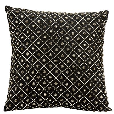 Saltash Throw Pillow Color: Black