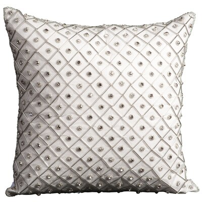 Saltash Throw Pillow Color: Ivory