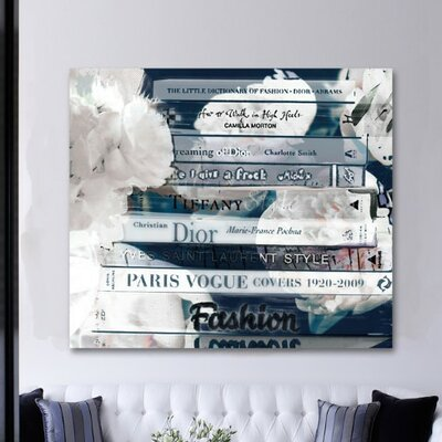 Romantica Night Graphic Art on Wrapped Canvas Size: 20