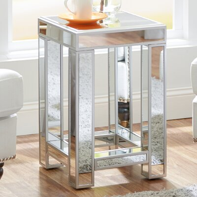 Jamison Mirrored Side Table