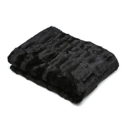 St Asaph Faux Fur Throw Blanket