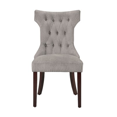 Caravilla Side Chair Upholstery: Taupe