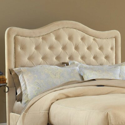 Pissini Upholstered Panel Headboard Size: King, Upholstery: Buckwheat