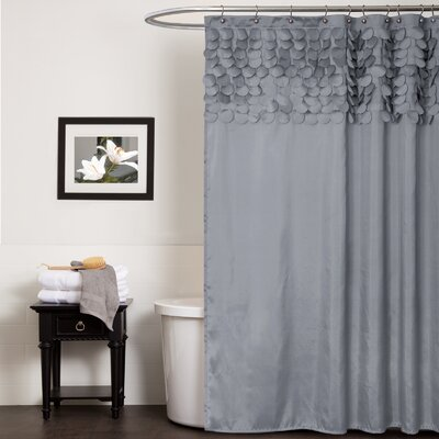 Aminu Shower Curtain Color: Gray