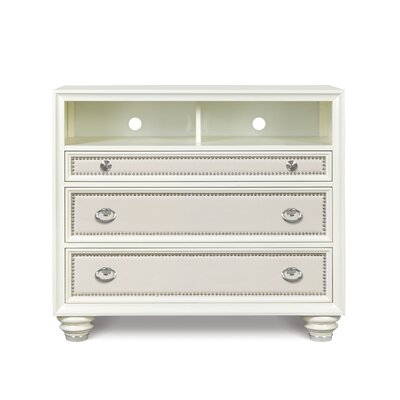 Geraldine 3 Drawer Media Chest