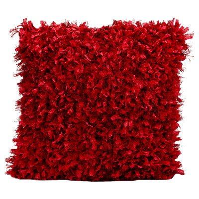 Sibylla Throw Pillow Color: Red