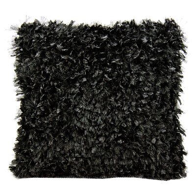 Vaughn Throw Pillow Color: Black