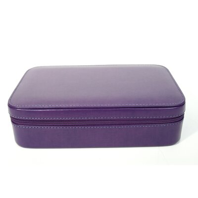 Genuine Leather Travel Jewellery Case